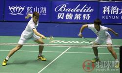 王懿律/黄东萍VS奥莉亚/费萨尔 2017年中国大师赛 混双半决赛视频