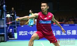 李宗伟VS西本拳太 2017羽毛球亚锦赛 男单1/8决赛视频