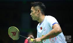 林丹VS周天成 2017羽毛球亚锦赛 男单1/4决赛视频