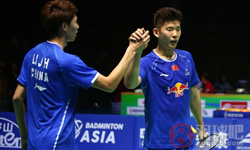 李俊慧/刘雨辰VS黄凯祥/王懿律 2017羽毛球亚锦赛 男双决赛视频