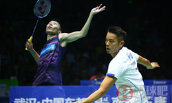 林丹VS李宗伟 2017羽毛球亚锦赛 男单半决赛视频