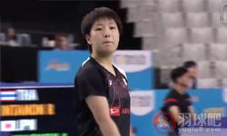 山口茜VS因达农 2017韩国公开赛 女单1/4决赛视频