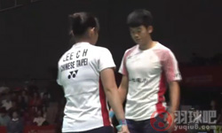 乔丹/苏珊托VS王齐麟/李佳馨 2017日本公开赛 混双1/4决赛视频